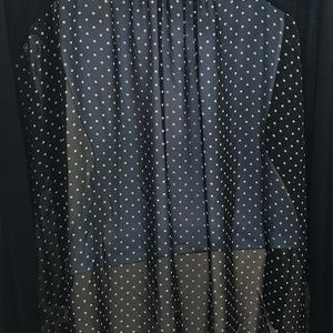 Ginger G blouse light weight cardigan Size M